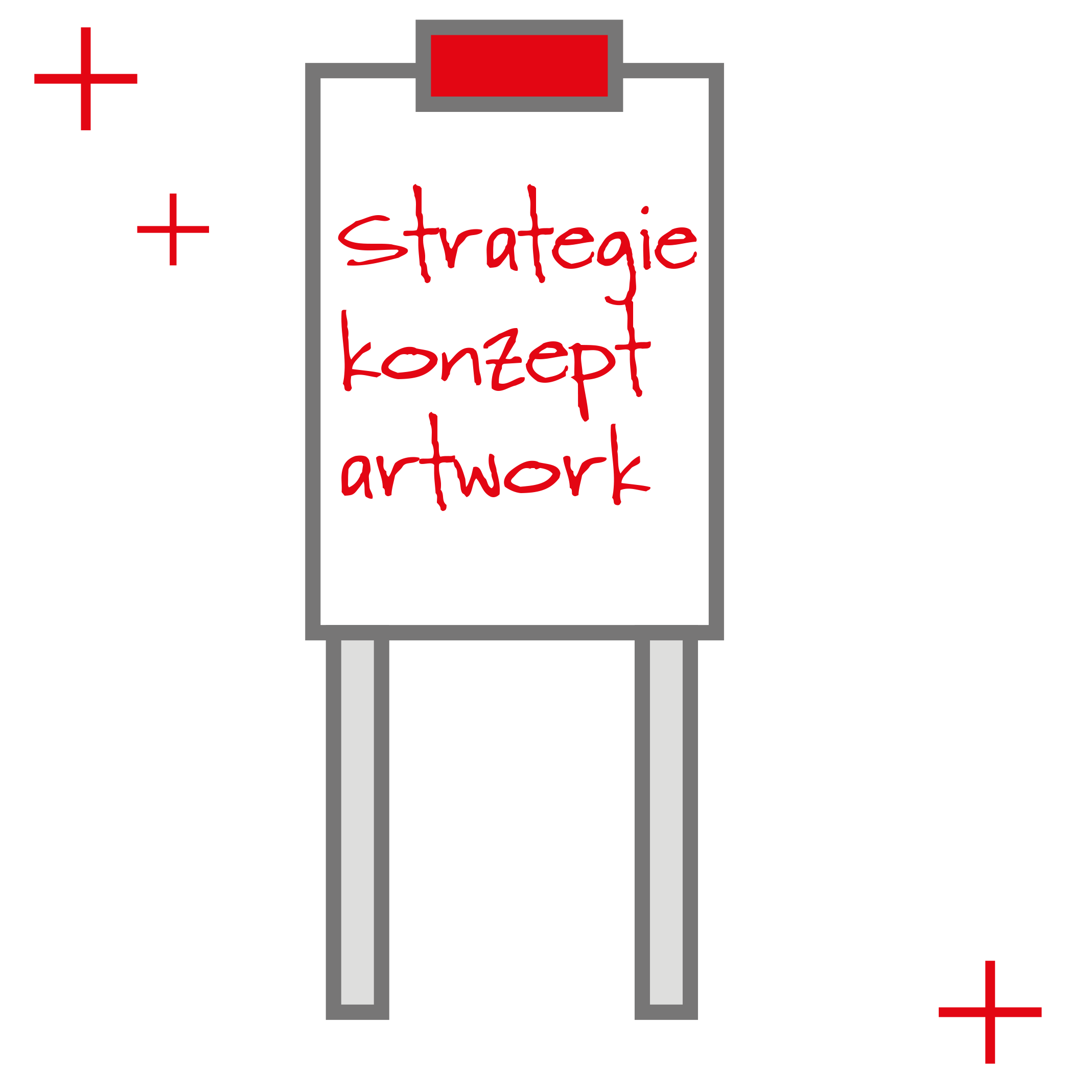 Puregraphik Strategie Konzept Artwork